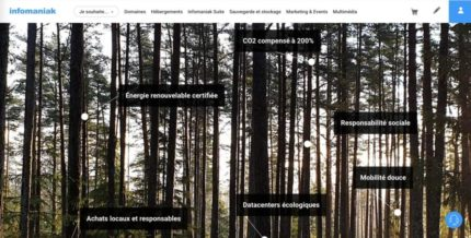 Infomaniak forêt